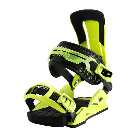 Drake Snowboard bindings Super Sport (yellow fluo/black)